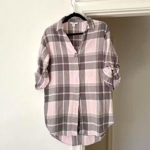 3 for $25 ALFANI Intimates Long Pastel Pink Shirt